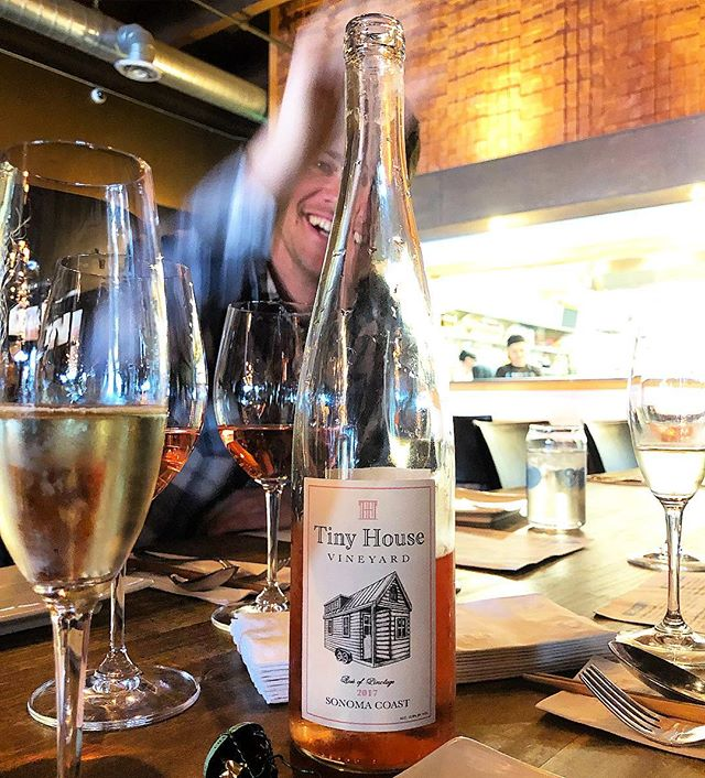Caught Luke trying to steal some Rose! My birthday lunch was off the hook and the rose is still drinking super strong! We had it with Spicy Thai and Yellow Curry. Killer pairing! #sonomacoast #pinotage #rosé #sonoma #sonomacounty #winelover #instawine #wine #wino #vino #cheers