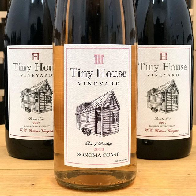 New release dropping March 11th! #tinyhouse #wine #wino #winelover #instawine #sonomacoast #russianriver #pinotnoir #pinotage #rosé