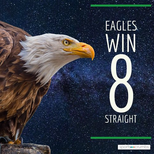 Eagles Win 8 Straight — sports∙∙∙crumbs