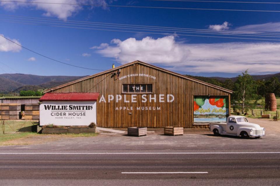 The Apple Shed Grove, Tasmania