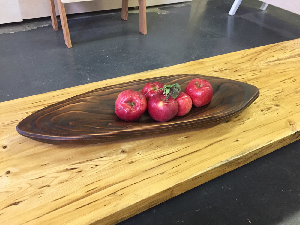 BeReclaimed - Recalimed Wood - Shou Sugi Ban Douglas Fir Bowl - Leslieville Toronto.jpg