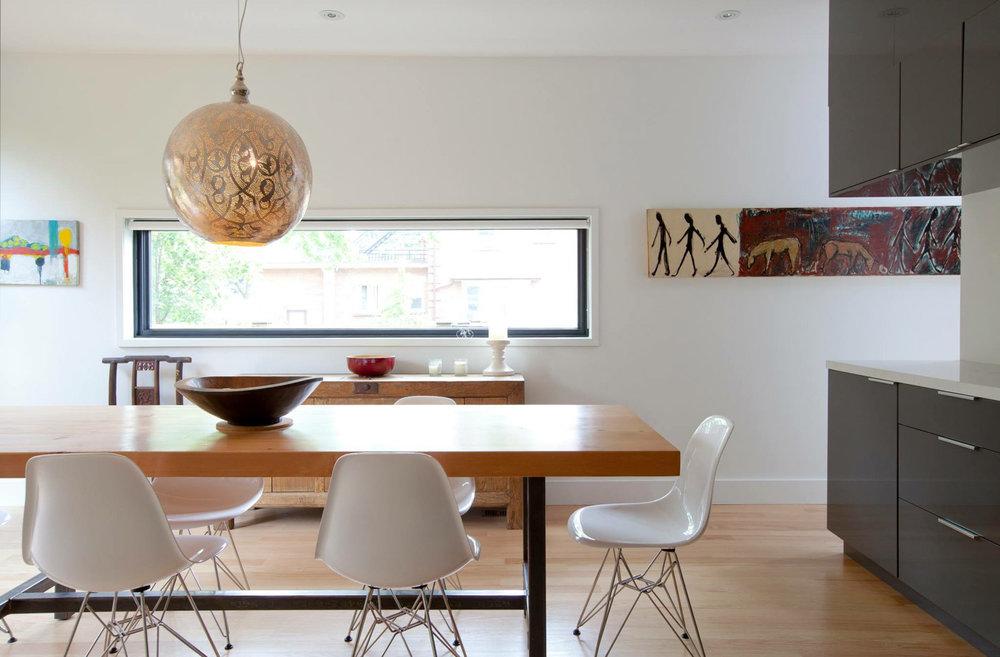 BeReclaimed - Reclaimed Wood Table - Bespoke Douglas Fir with Steel Frame - .jpg