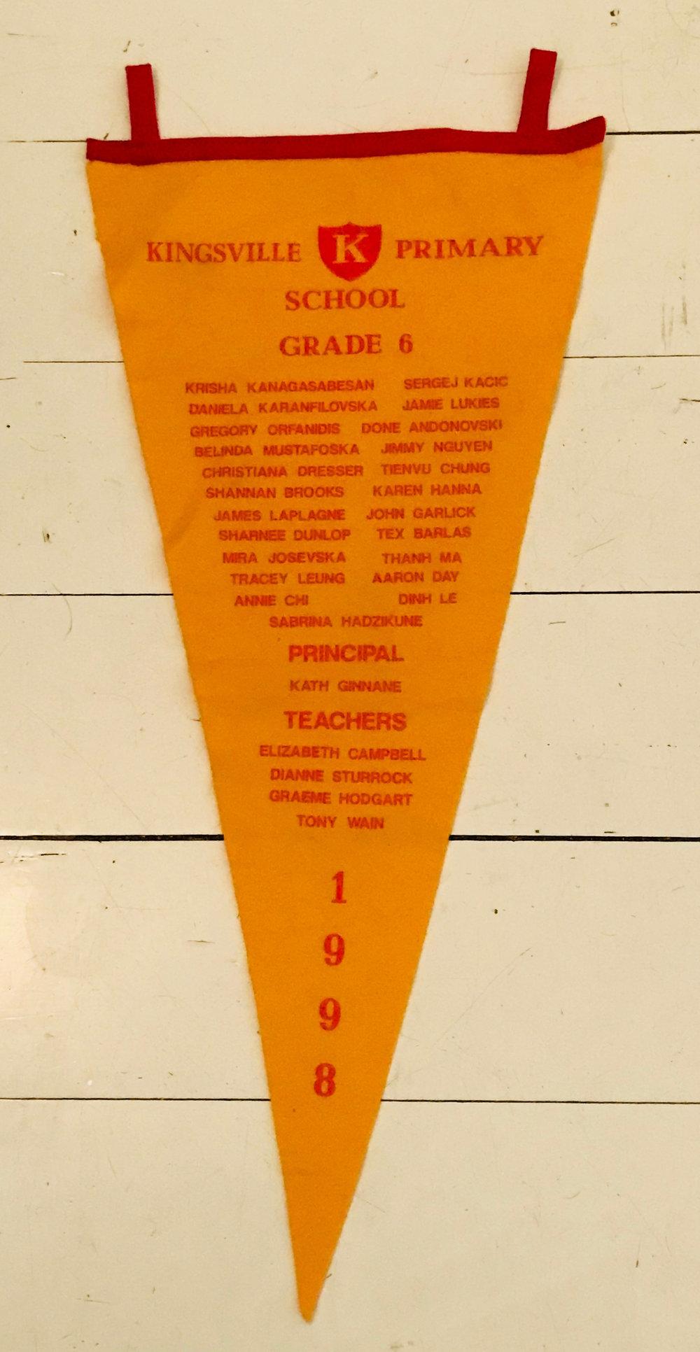 Grade 6 ceremonial flag