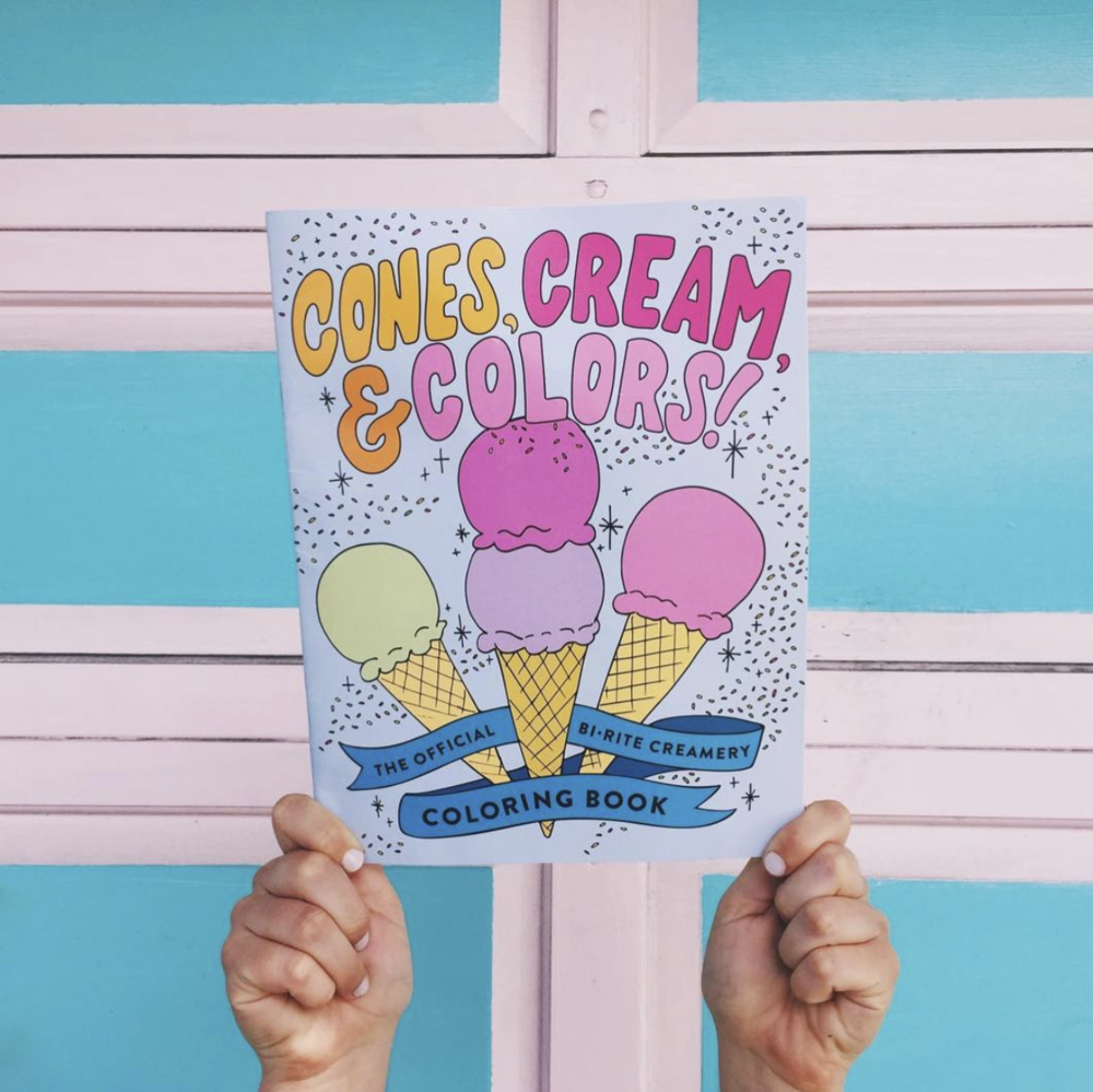 Illustrations   for Bi-Rite Creamery