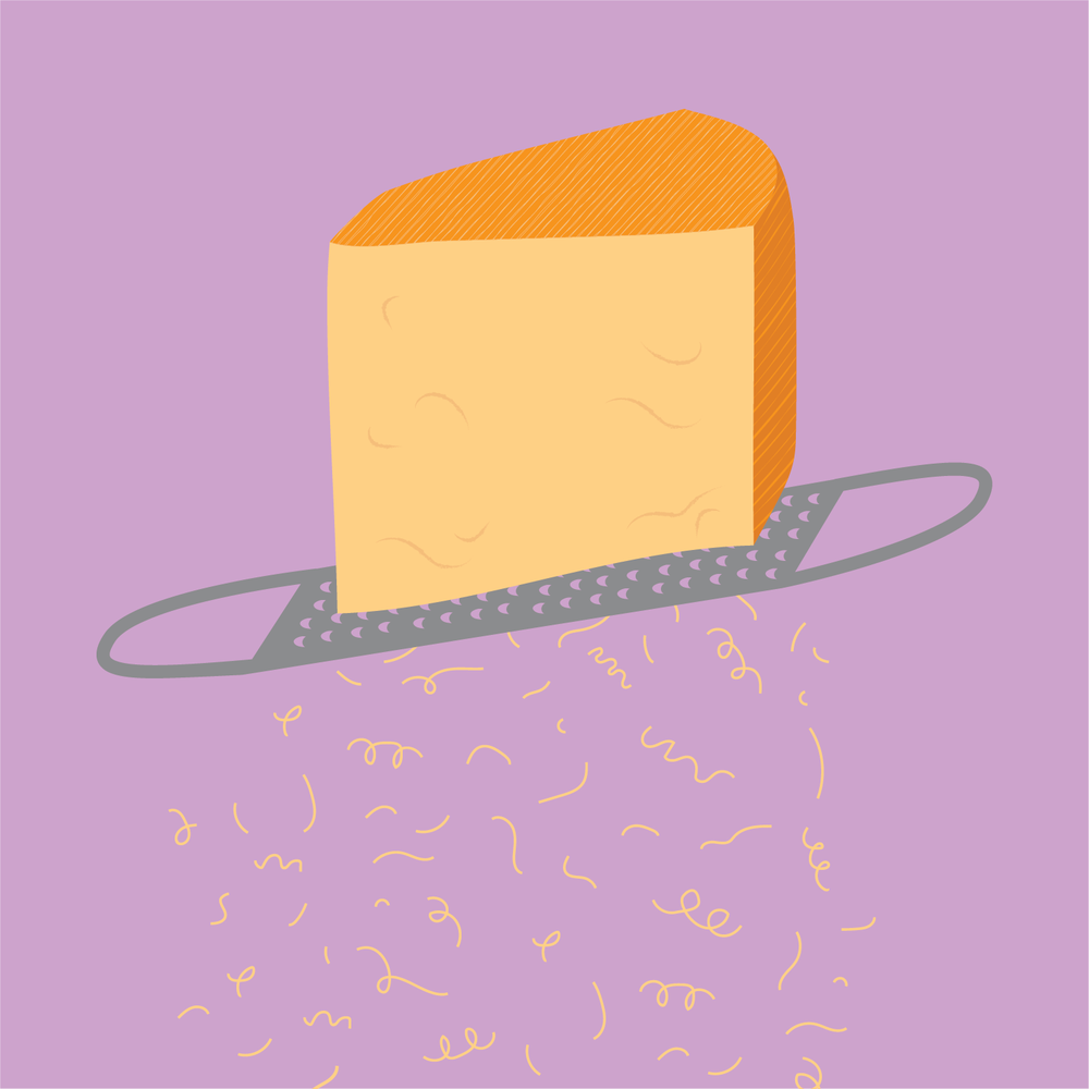 Illustration   for Bi-Rite Market's Cheese Department