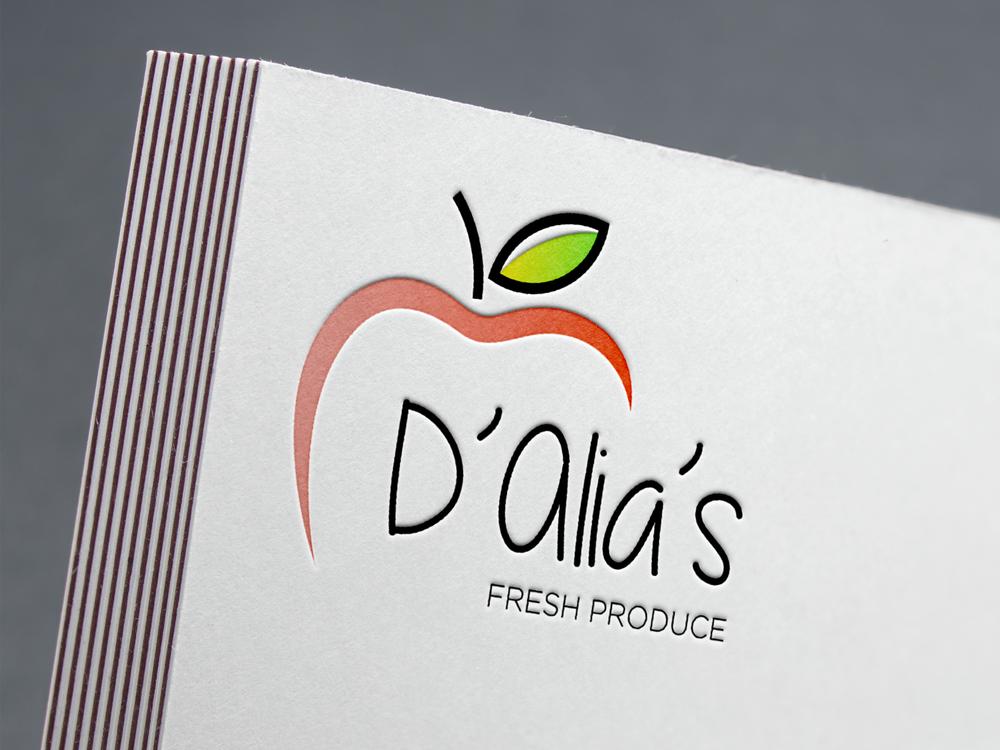 D'Alia's Fresh Produce - Brand Identity