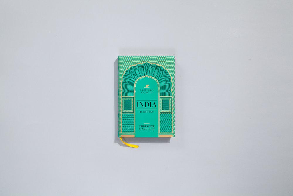 Title – A Personal Guide to India & Bhutan  Author – Christene Manfield Designer – Daniel New Publisher – Lantern, Penguin Random House