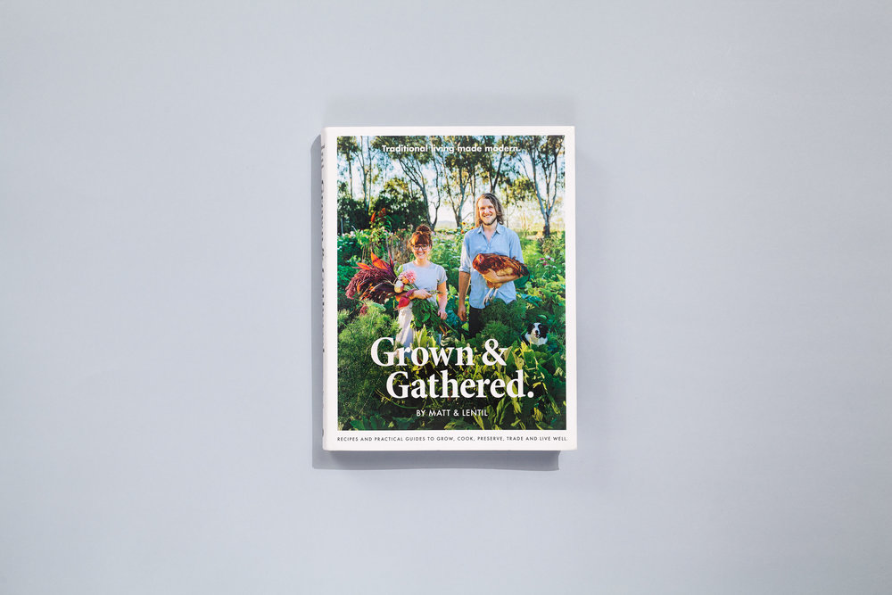 Authors – Matt & Lentil Designer – Daniel New Photographer – Shantanu Starick Publisher – Plum  2017 Australian Book Design Awards + Best Designed Cookbook