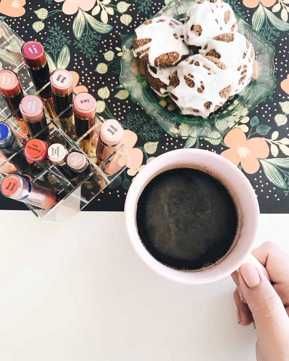 SeneGence LipSense morning coffee