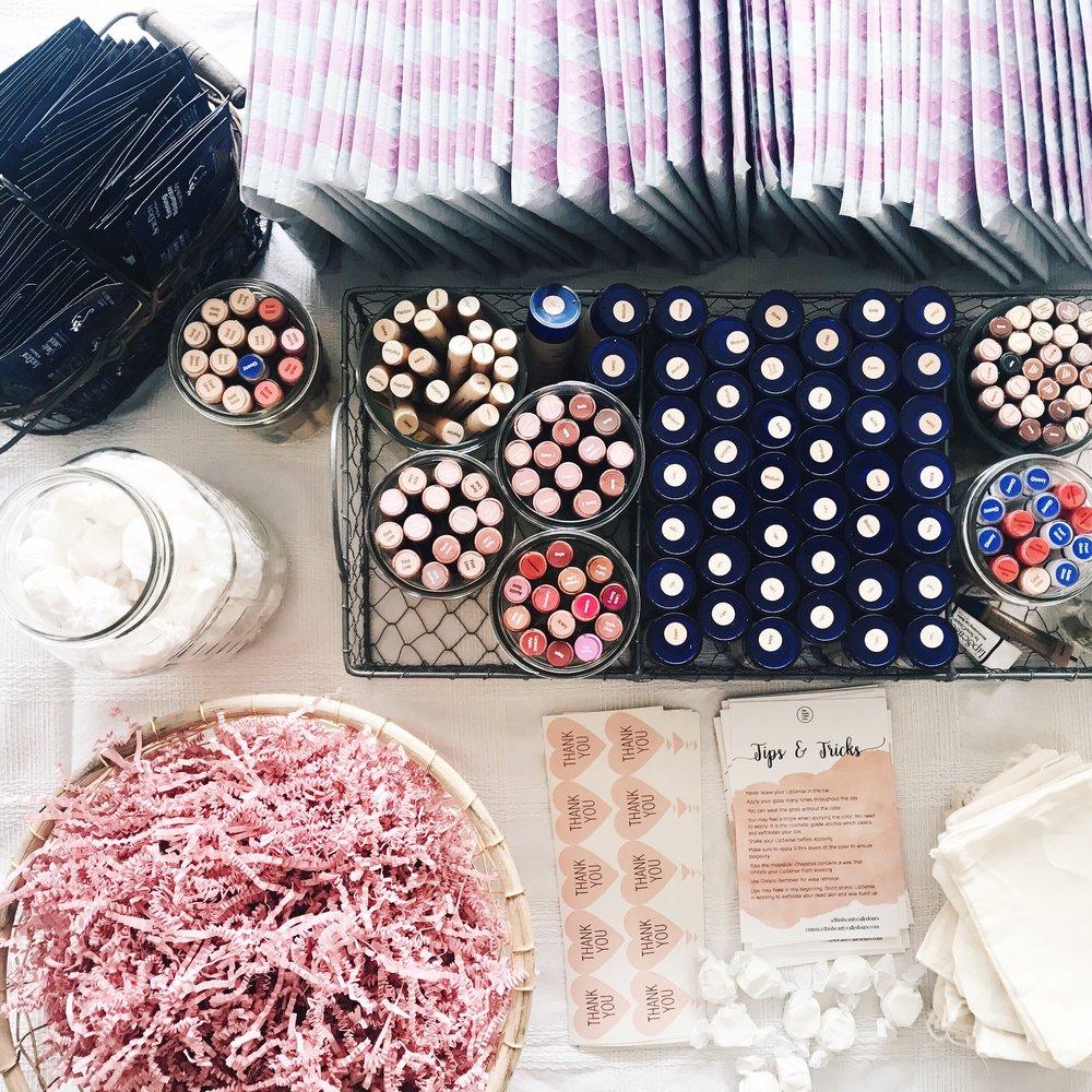 Shop SeneGence LipSense colors and become a distributor