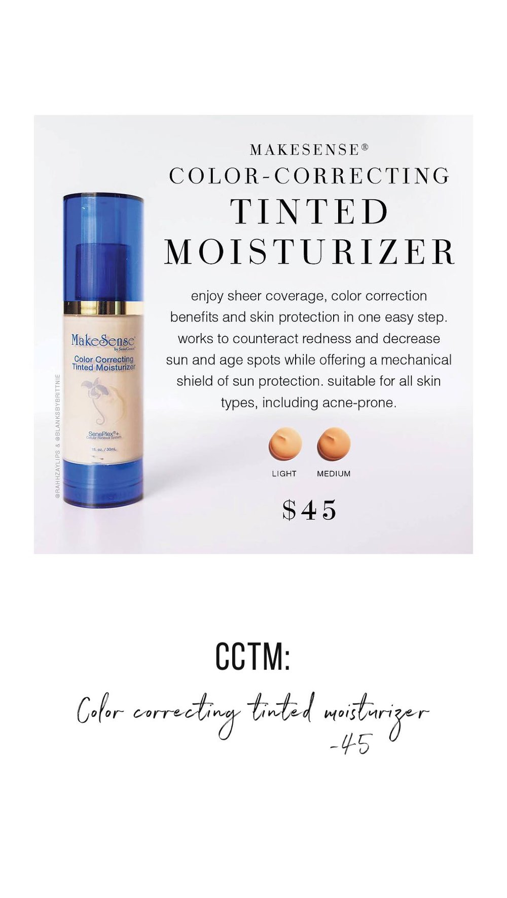 Color Correcting Tinted Moisturiser by This Beauty Called Ours
