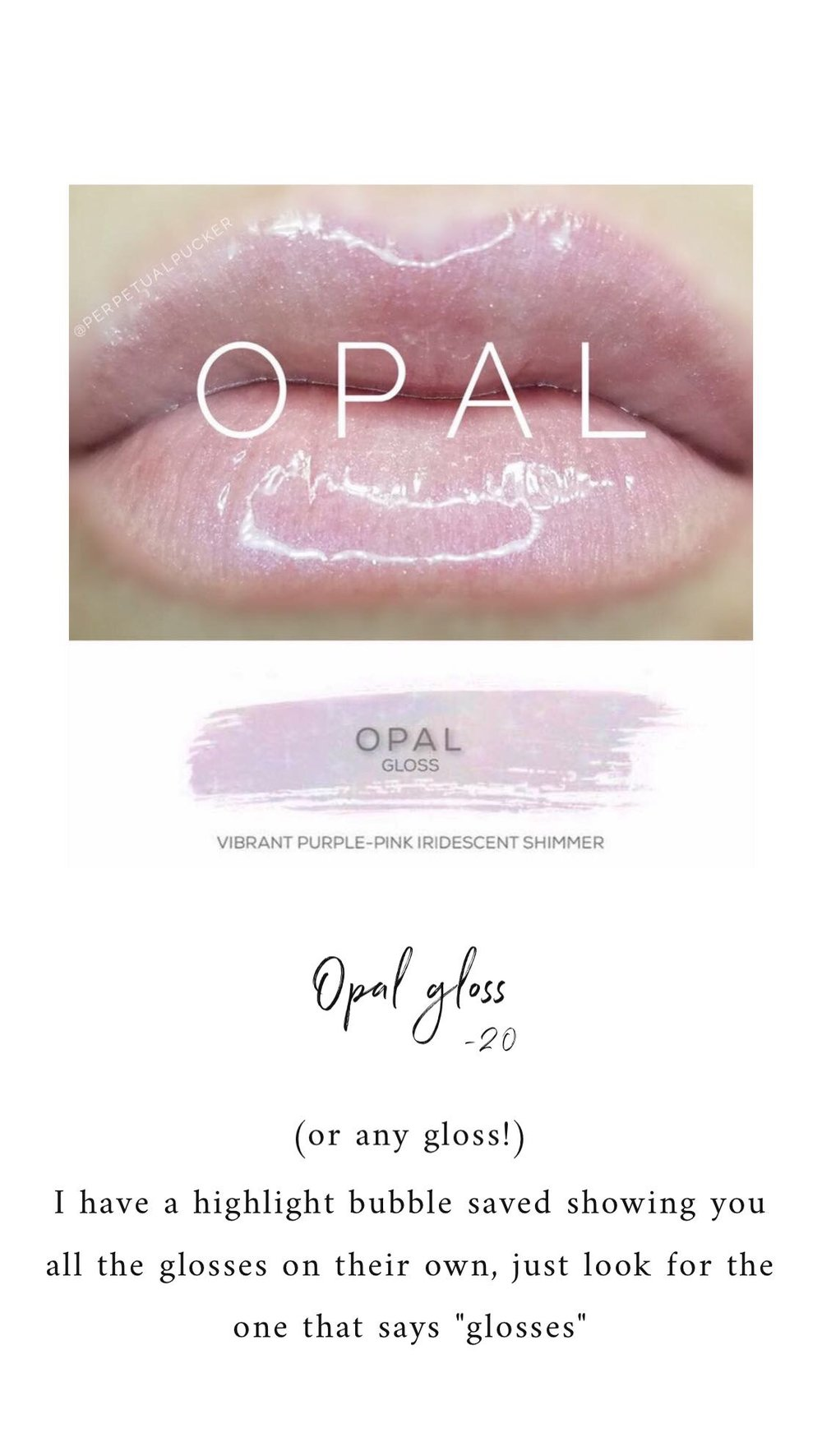 Opal Lip Gloss by This Beauty Called Ours