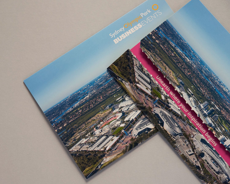 Brochures business cards and other print collateral cara ord create business events mail drop 1500 1200g colourmoves