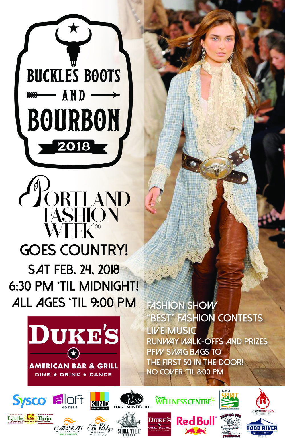 Buckles Boots and Bourbon 2018 hosted by Fiona Foulk