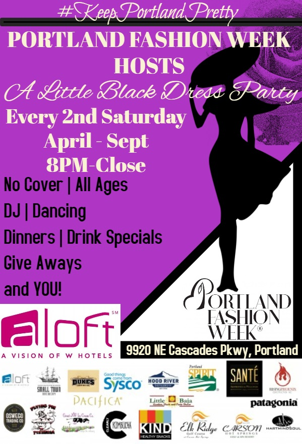 Second Saturdays from the award winning Aloft Hotel Portland - 9920 NE Cascades ParkwayNo cover, all ages!Dining, dancing, drink specials and DJ Cowboy! With contests, give aways, and you!
