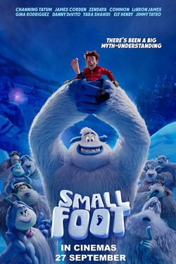 Win tickets to Small Foot - visit us on Face Book at: https://www.facebook.com/fashionweekportland/ comment on this post with your favorite shoe maker and enter to win a chance at 4 tickets to Small Foot Sat. Sept. 22, 10:30 AM at Regal Cinemas Tigard!