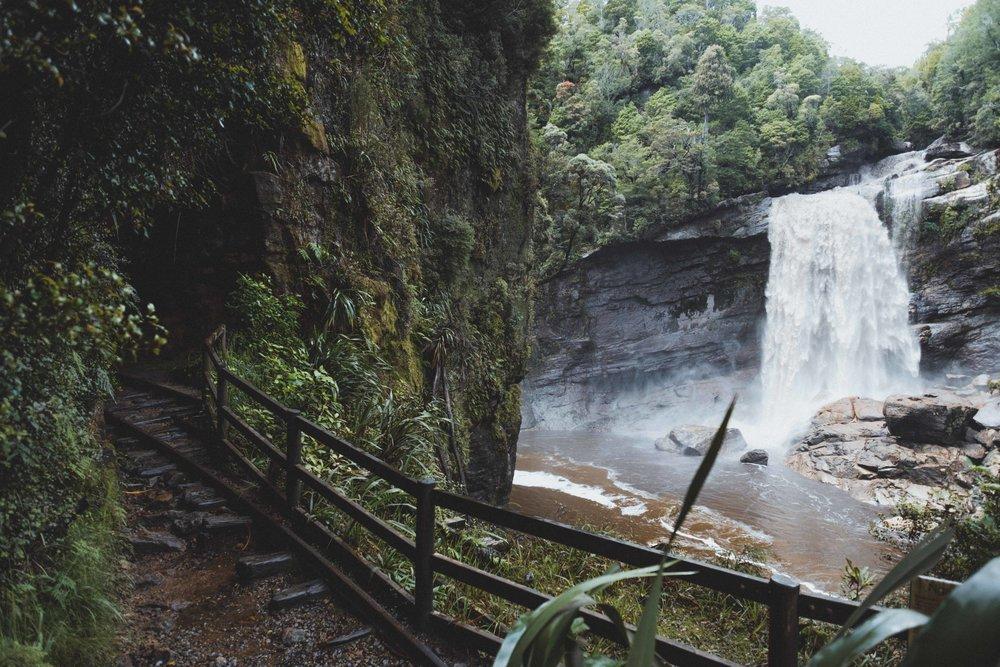 Mantagani Falls