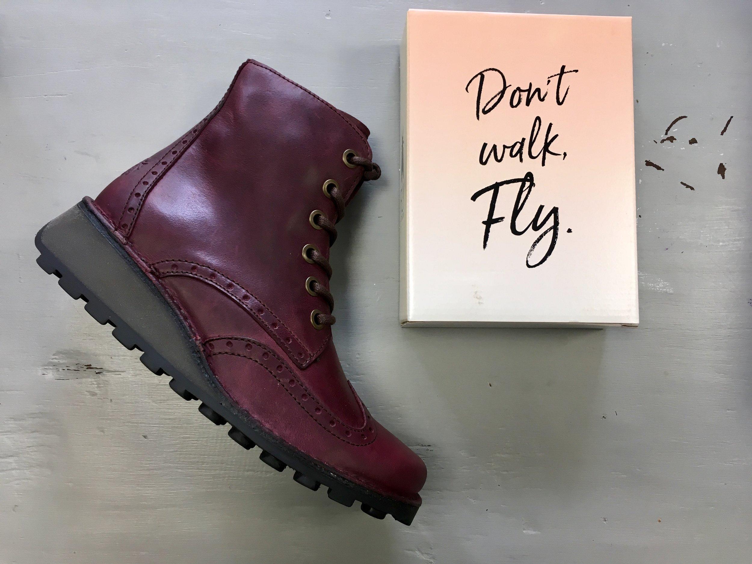 4aecd9dbfebd8 Fly London MARL purple boots — Apparel Leeds | Ladies Fashion