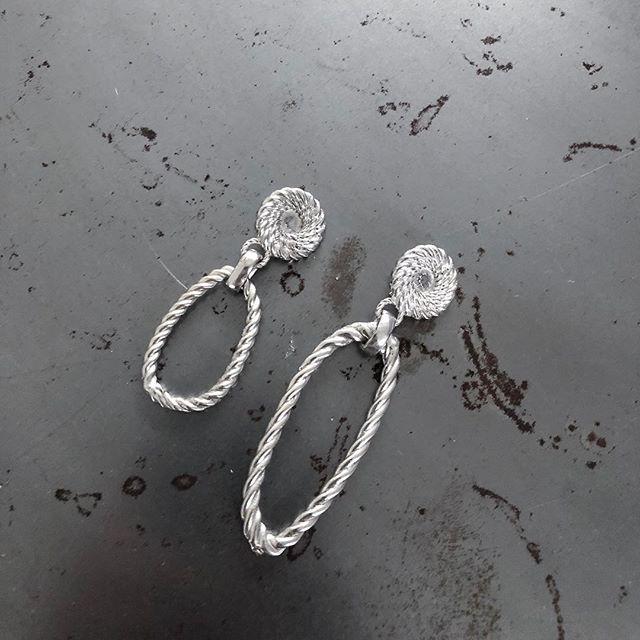 Asymmetrical Rope Earrings In 925 Sterling Silver • Coming Soon!