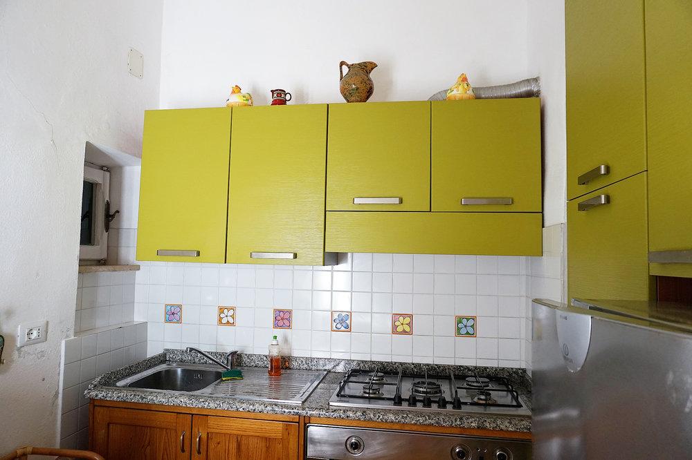 Giglio Villa Kitchen