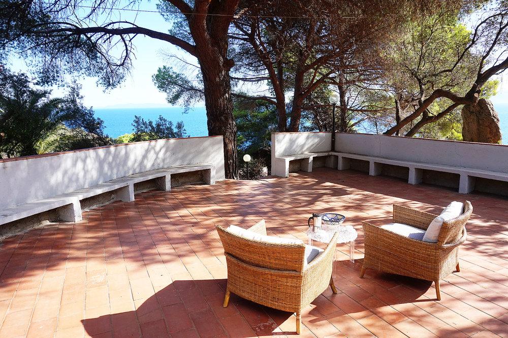 Giglio Villa Terrace
