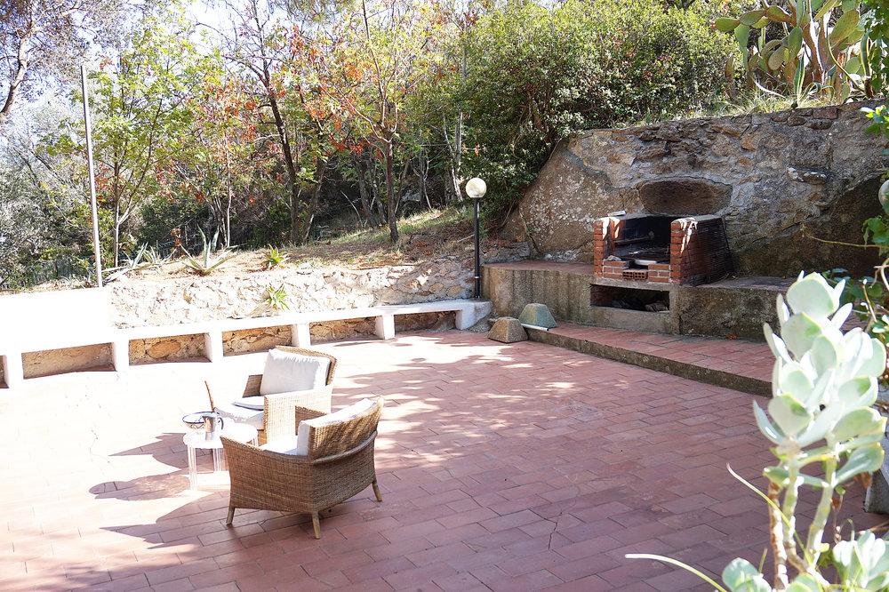 Villa Terrace bbq