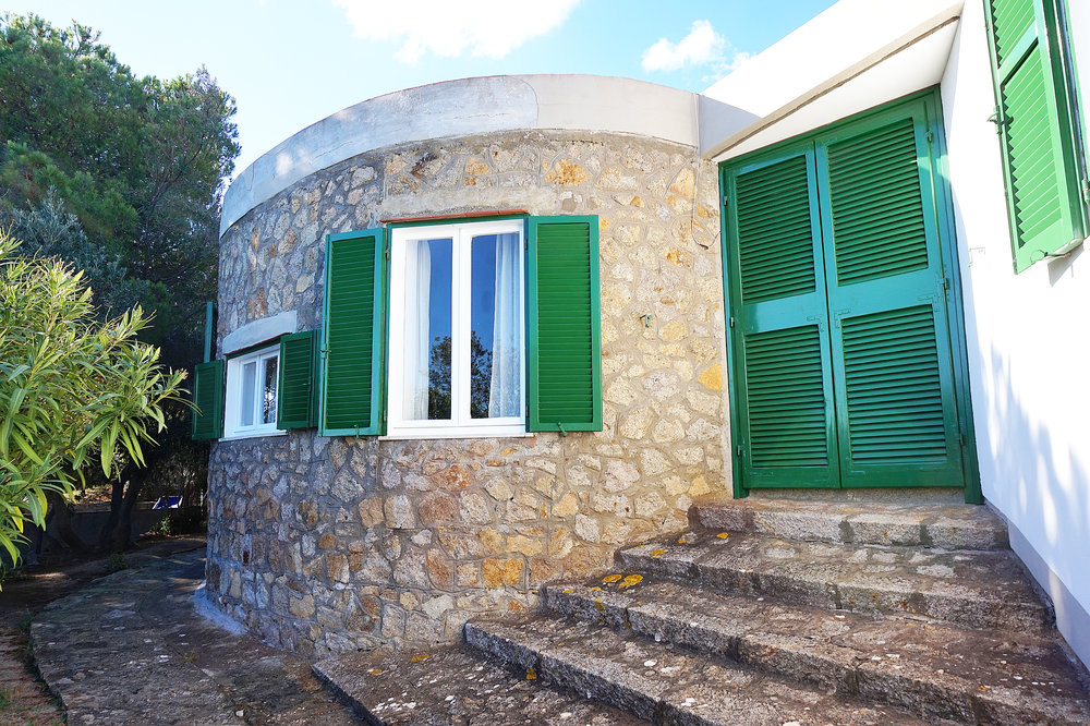 Villa main entry