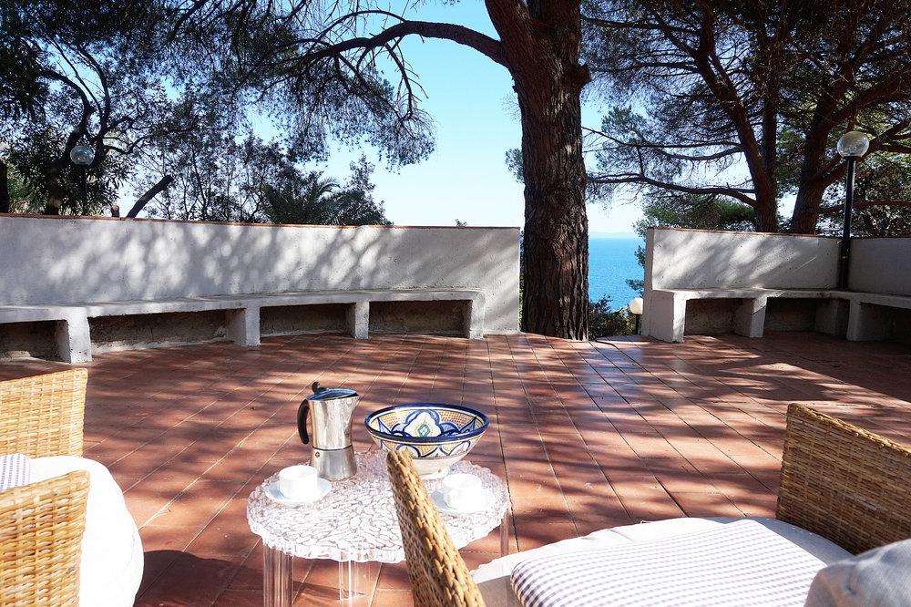 Villa Francesca breakfast