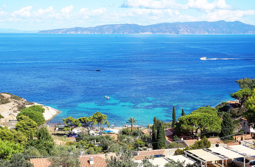 Villa  mainland view