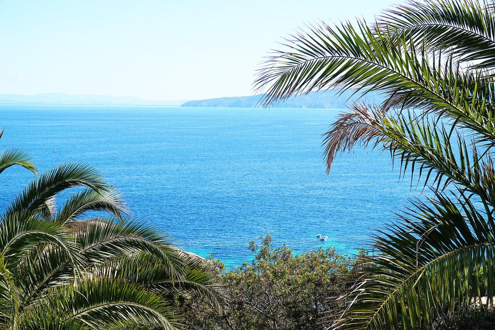 Giglio villa arenella view
