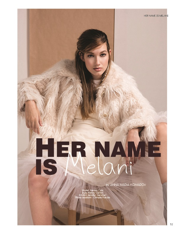 Her name is Melani by Anna Komarov ELOQUE magazine
