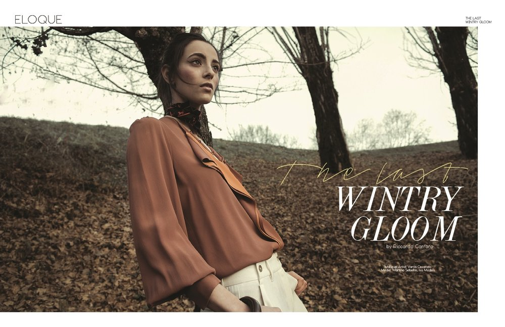 The last wintry gloom by Riccardo Carraro ELOQUE magazine