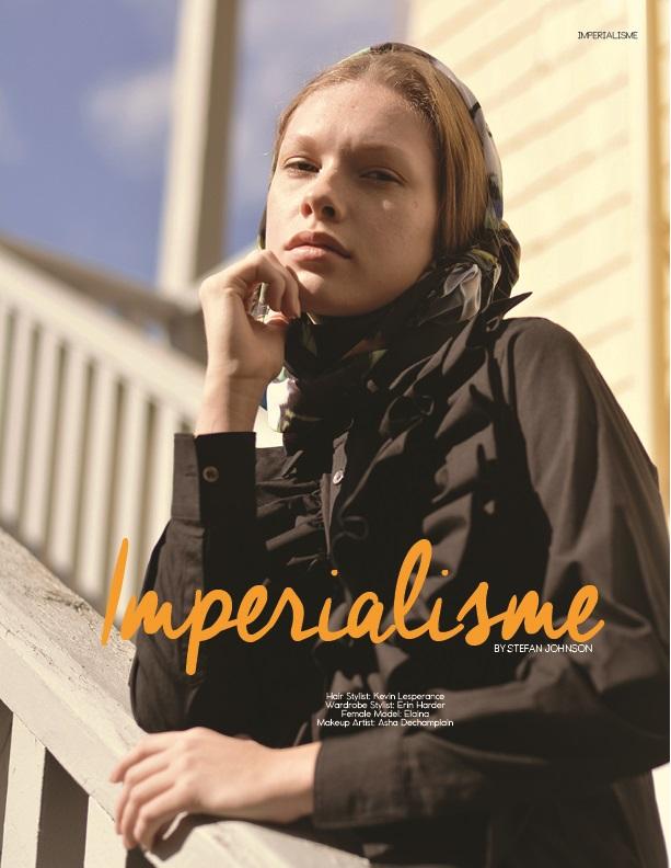 Imperialisme by Stefan Johnson ELOQUE magazine