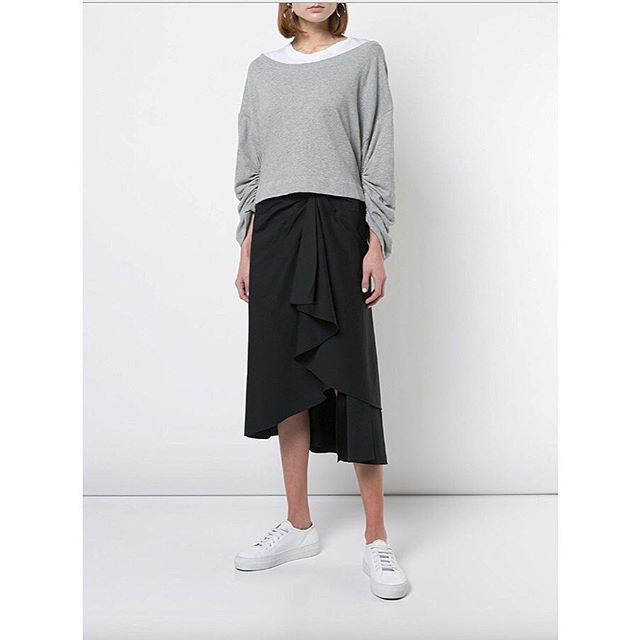 casual chic: @alc_ltd ember top + diller skirt #chalkcurates #shoplocal