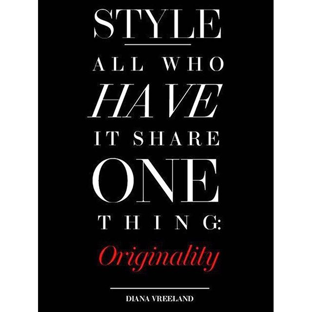 you be you  #dianavreeland #fashionicon #stylediaries