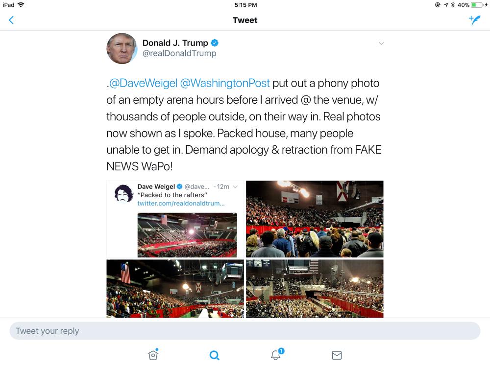 "Tweetstorm Fuels ""Fake News"""