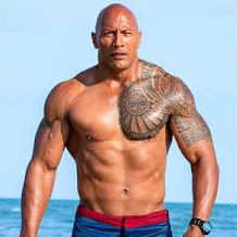 Dwayne Johnson. The Rock.