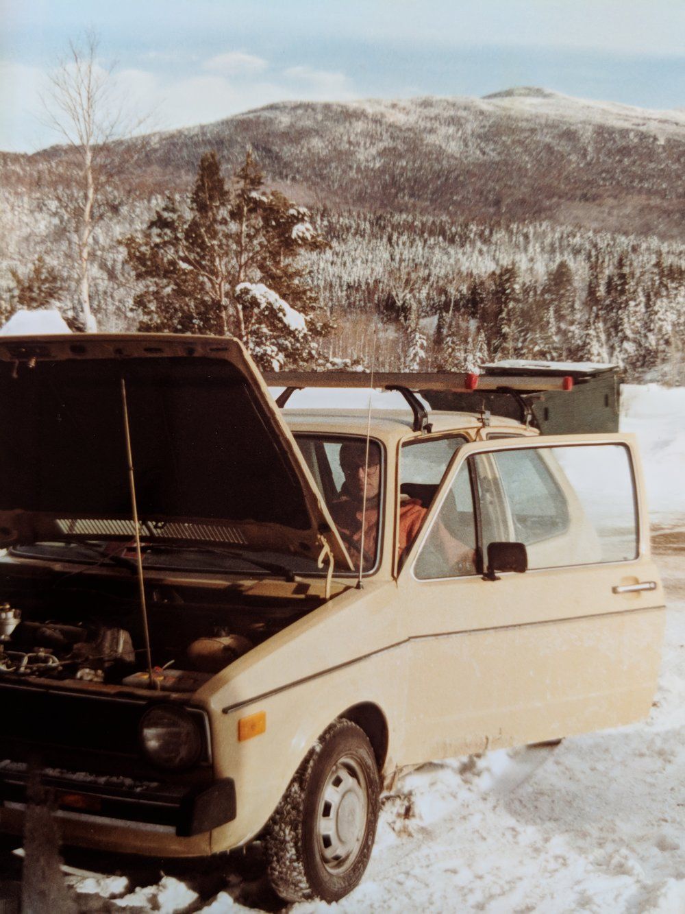 My 1979 VW Rabbit, refusing to run in cold weather.