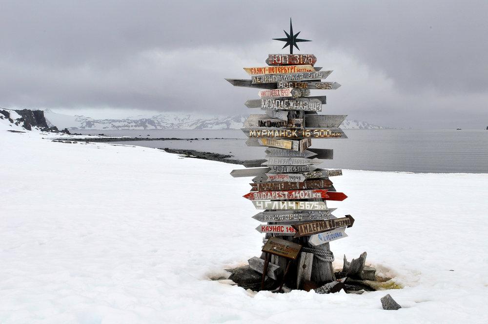 Bellinghausen Station, King George Island, Antarctica