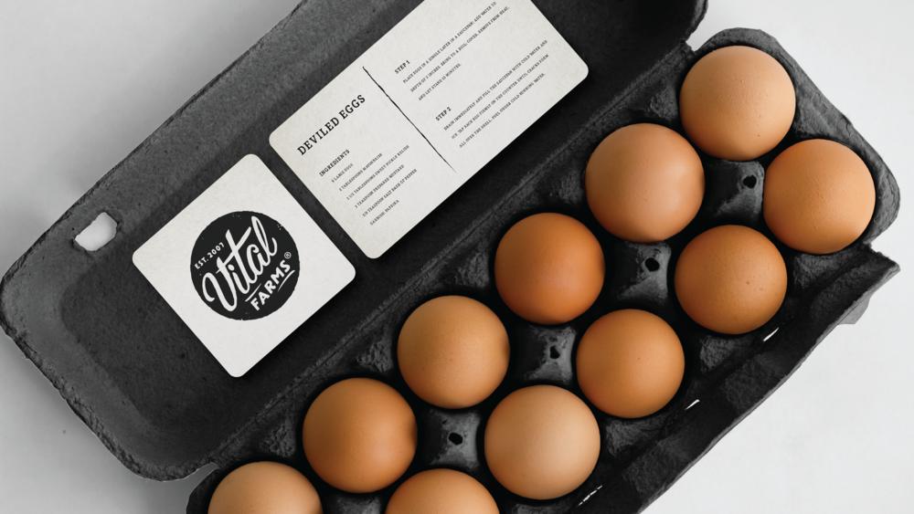 Vital Farms Eggs Carton