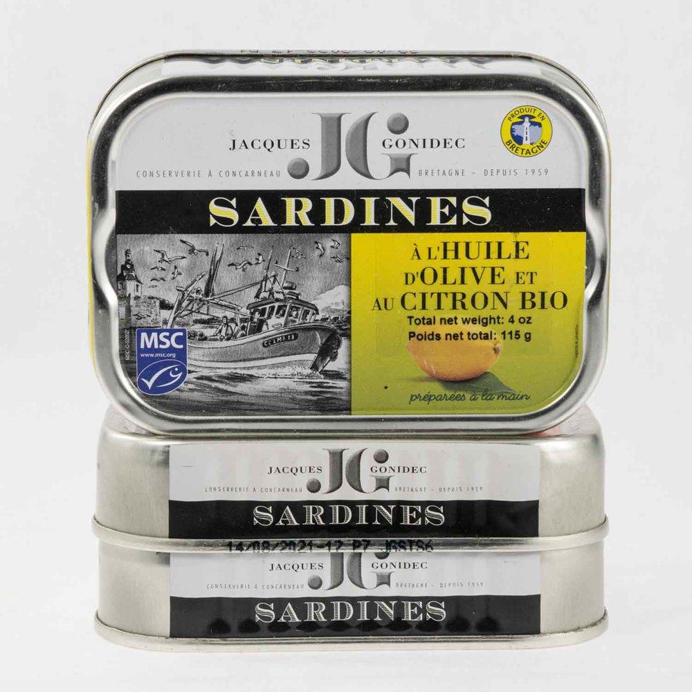 JACQUES GONIDEC, SARDINES w. LEMON