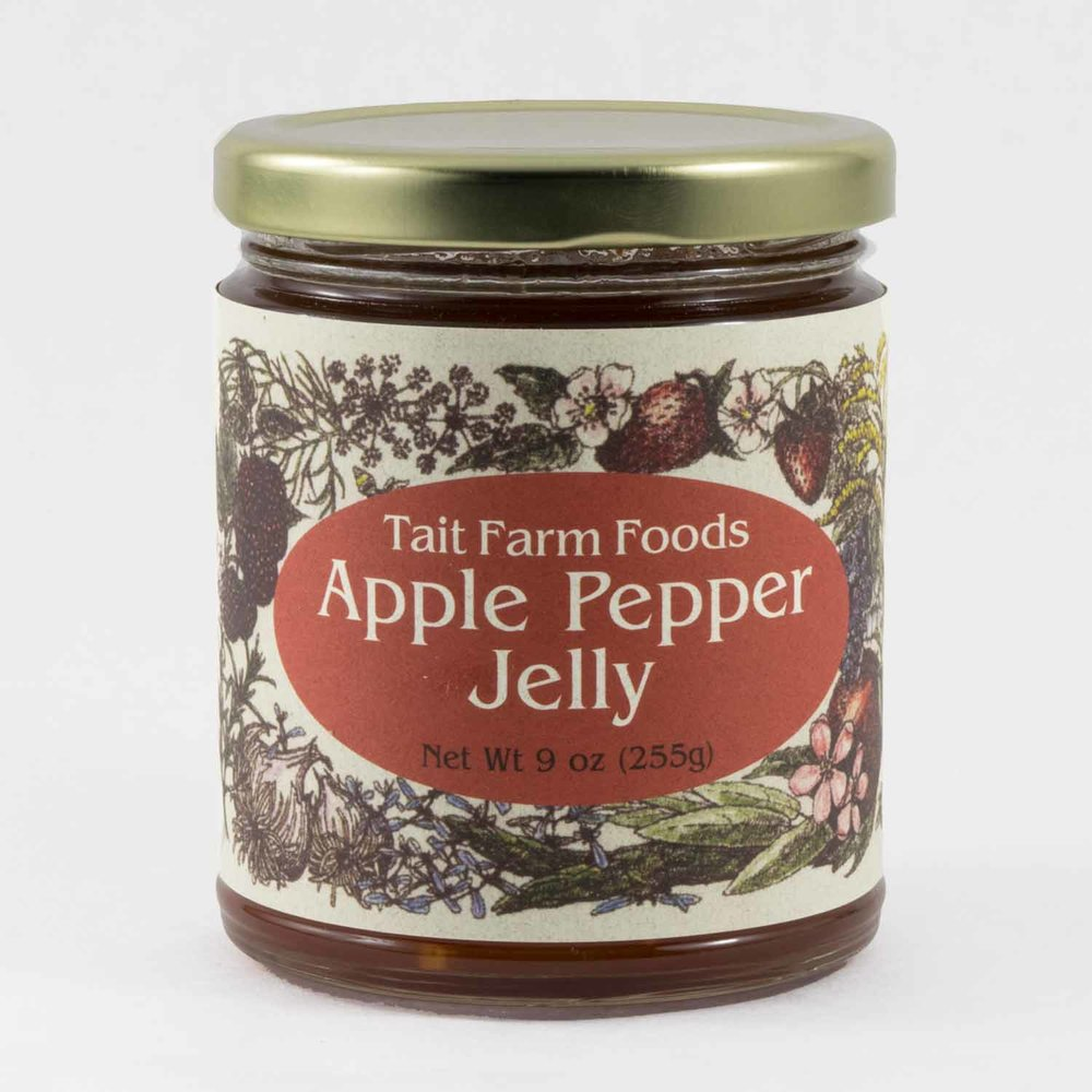 TAIT FARM FOODS, APPLE PEPPER JELLY