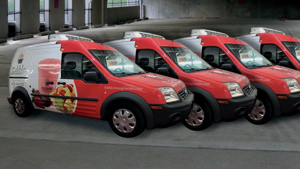Platinium Auto Wraps: Fleet
