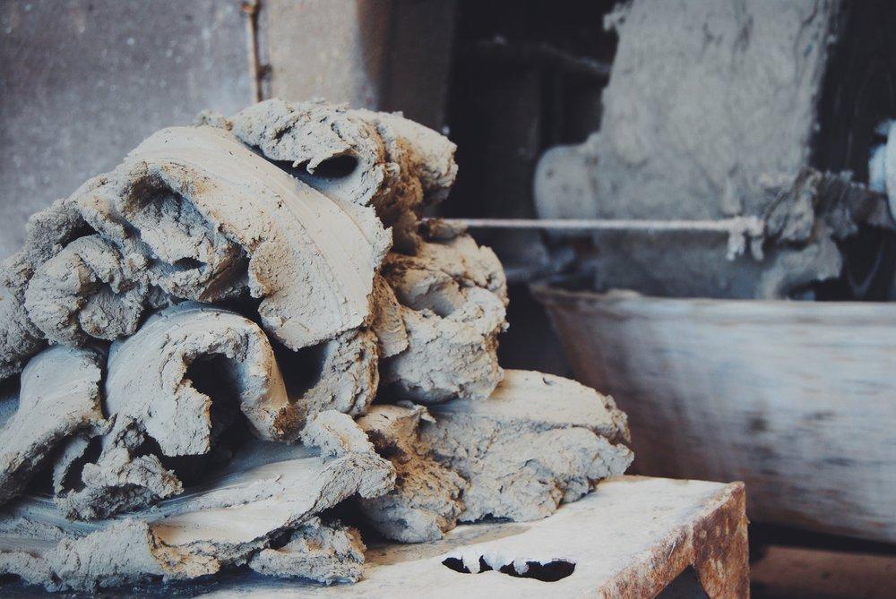 clay heap