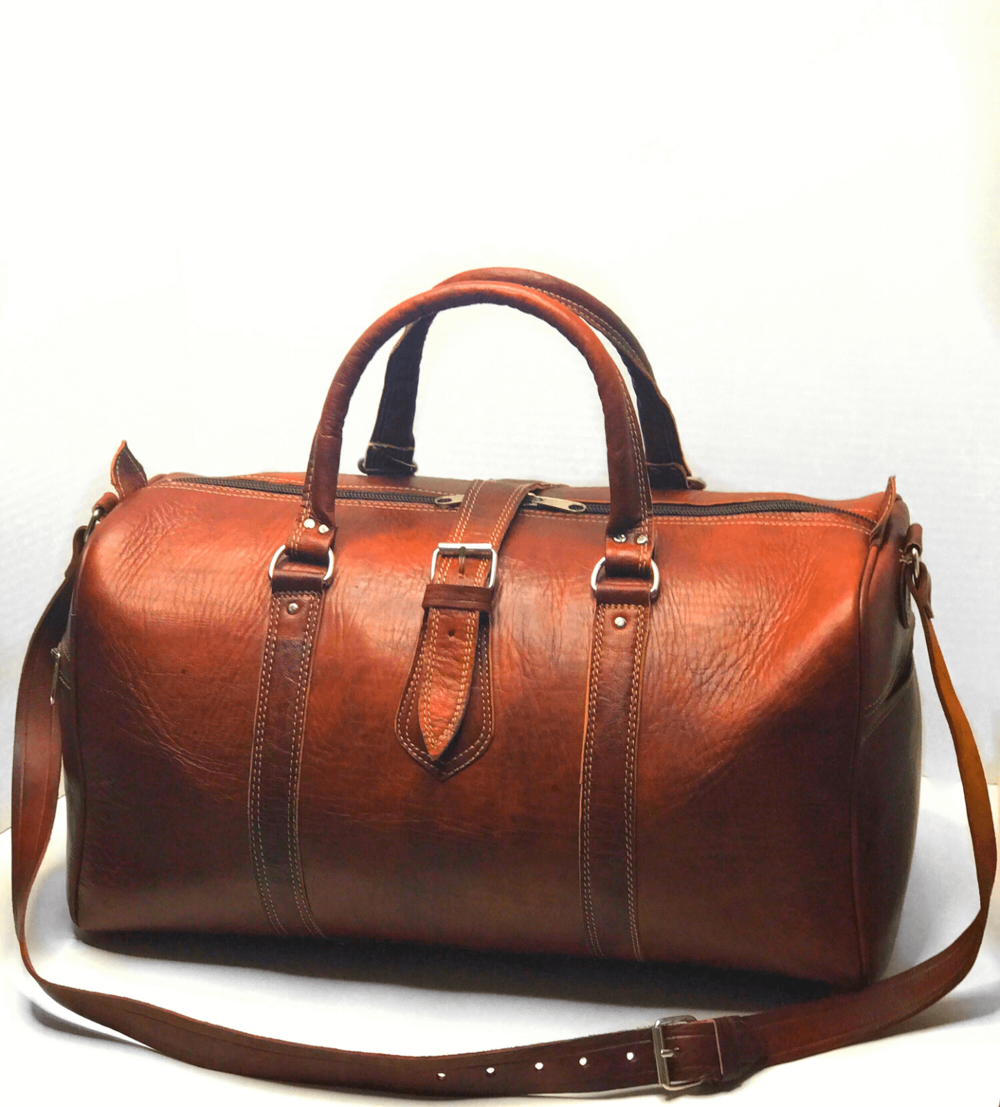 Made Leather Co. Aviator Weekender