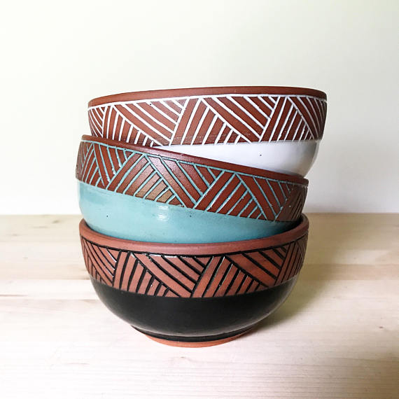 Pottery By Osa Ceramic Bowls