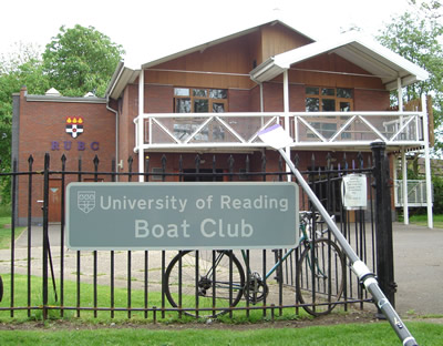 The new boathouse built in 1992.