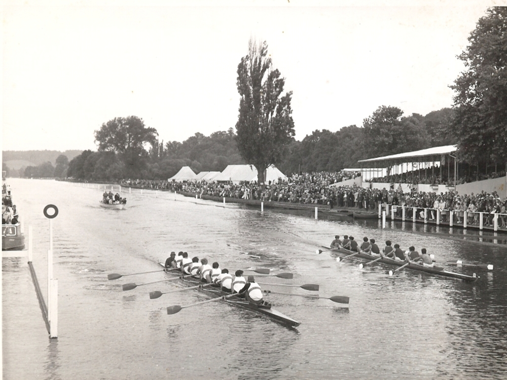 RUBC v London Uni Semi finals Ladies Plate 1970.
