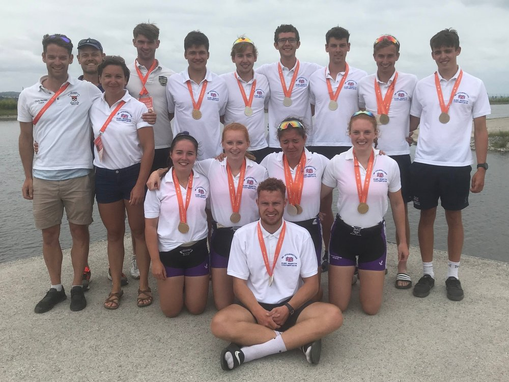 RUBC in Portugal for the 2019 EUSA regatta