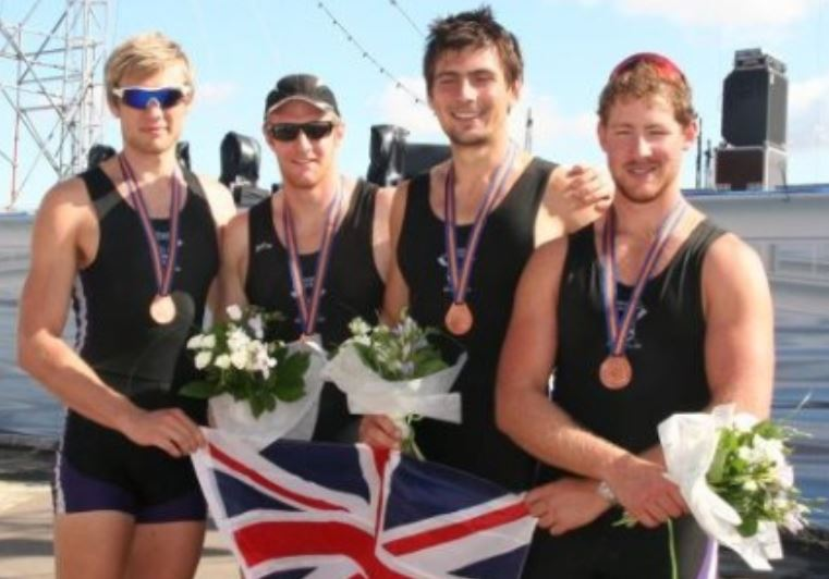 Men's quad - Bronze